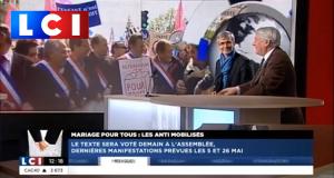 Interview de Tugdual DERVILLE sur LCI au lendemain de La Manif pour Tous