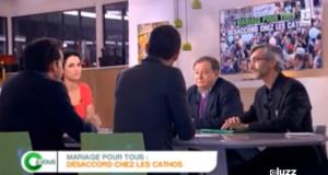 C A Vous – France 5: Débat avec Jean-Pierre Mignard sur le Mariage pour Tous