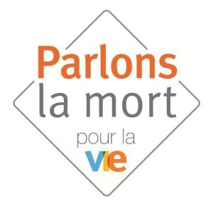 """logo """"Parlons la mort pour la vie"""""""