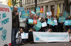 Movilizaciones en Francia por el desarrollo de los cuidados paliativos