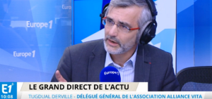 «Le grand direct de l'actu » sur Europe 1
