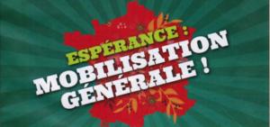 Espérance : mobilisation générale !