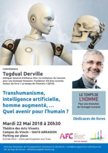 Conférence – dédicace sur le Transhumanisme