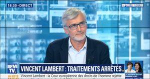 «Il y a un mystère à protéger en prenant soin de Vincent Lambert», BFMTV, 20 mai 2019.