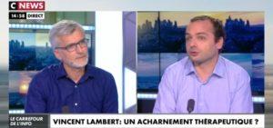 «Vincent Lambert : L'état de conscience est le mystère de ces personnes» CNews, 1er juillet 2019